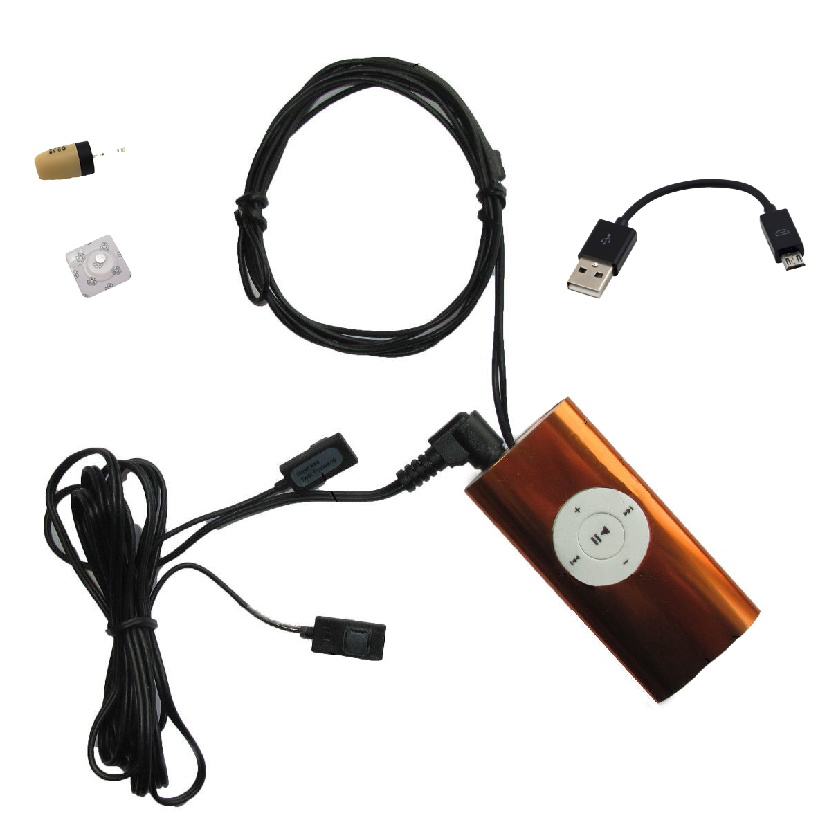 exam cheat mp3 player with hidden control buttons. Black Bedroom Furniture Sets. Home Design Ideas